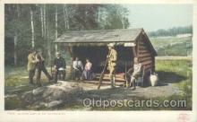 spo033127 - Adirondacks, Hunting Postcard Postcards