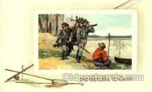 spo033157 - Hunting Postcard Postcards