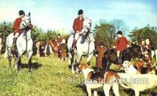spo033166 - An English Hunting Scene, Hunting Postcard Postcards