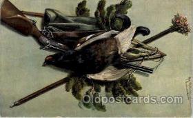spo033177 - Hunting Postcard Postcards