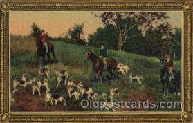 spo033222 - Hunting Postcard Postcards