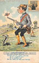 spo033267 - Hunting Postcard