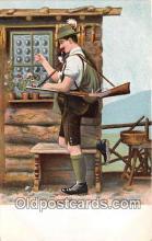 spo033268 - Hunting Postcard