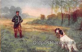spo033279 - Hunting Postcard
