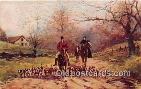 spo033282 - Hunting Postcard
