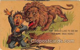 spo033285 - Hunting Postcard