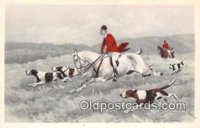 spo033286 - Hunting Postcard