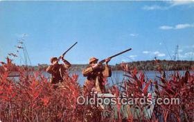spo033287 - Hunting Postcard