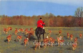 spo033289 - Hunting Postcard
