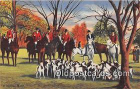 spo033292 - Hunting Postcard