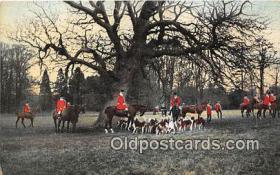spo033294 - Hunting Postcard