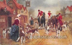 spo033295 - Hunting Postcard