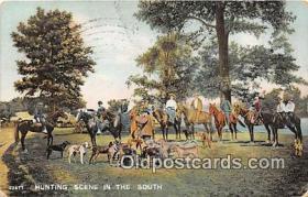 spo033300 - Hunting Postcard