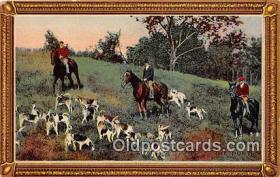 spo033303 - Hunting Postcard