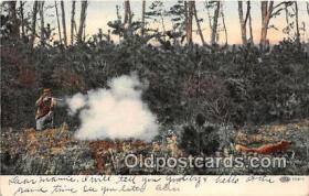 spo033307 - Hunting Postcard