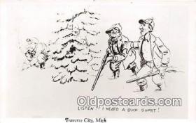 spo033311 - Hunting Postcard