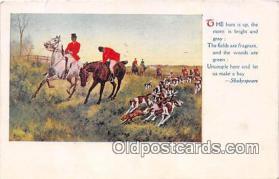 spo033313 - Hunting Postcard