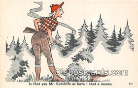 spo033317 - Hunting Postcard