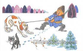spo033323 - Hunting Postcard