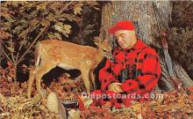 spo033339 - Old Vintage Hunting Postcard Post Card