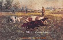 spo033352 - Old Vintage Hunting Postcard Post Card