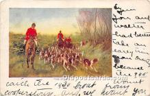 spo033362 - Old Vintage Hunting Postcard Post Card