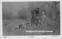 spo033368 - Old Vintage Hunting Postcard Post Card