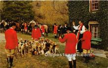 Blessing of the Hounds, Iroquois Hunt Club