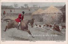 spo033404 - Old Vintage Hunting Postcard Post Card