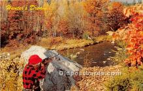 spo033410 - Old Vintage Hunting Postcard Post Card