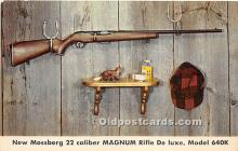 New Mossberg 22 Caliber Magnum Rifle De Luxe, Model 640k