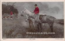 spo033422 - Old Vintage Hunting Postcard Post Card