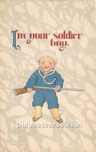 Im your soldier boy