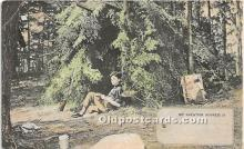 spo033463 - Old Vintage Hunting Postcard Post Card