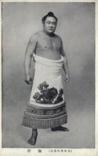 spo034105 - Sumo Wrestling Postcards Old Vintage Antique Post Card
