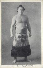 spo034106 - Sumo Wrestling Postcards Old Vintage Antique Post Card