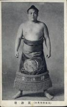 spo034109 - Sumo Wrestling Postcards Old Vintage Antique Post Card