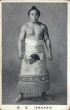 spo034116 - Sumo Wrestling Postcards Old Vintage Antique Post Card