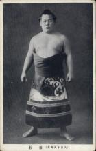 spo034118 - Sumo Wrestling Postcards Old Vintage Antique Post Card