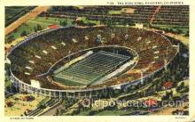 spo036001 - The Rose Bowl, Pasadena, California, USA Foot Ball, Football, Stadium, Stadiums, Postcard Postcards