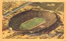 spo036002 - The Rose Bowl, Pasadena, California, USA Foot Ball, Football, Stadium, Stadiums, Postcard Postcards