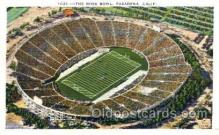 spo036006 - The Rose Bowl, Pasadena, California, USA Foot Ball, Football, Stadium, Stadiums, Postcard Postcards