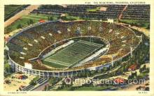 spo036008 - The Rose Bowl, Pasadena, California, USA Foot Ball, Football, Stadium, Stadiums, Postcard Postcards