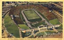 spo036010 - Baltimore Stadium, Baltimore Maryland, USA Foot Ball, Football, Stadium, Stadiums, Postcard Postcards