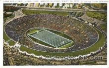 spo036013 - Yale Bowl, New Haven, Conn, USA Foot Ball, Football, Stadium, Stadiums, Postcard Postcards