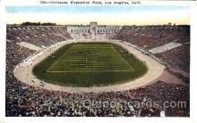 spo036019 - Coliseum, Exposition, Park, Los Angeles, California, USA Foot Ball, Football, Stadium, Stadiums, Postcard Postcards