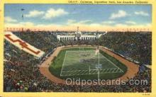 spo036020 - Coliseum, Exposition, Park, Los Angeles, California, USA Foot Ball, Football, Stadium, Stadiums, Postcard Postcards