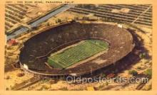 spo036023 - The Rose Bowl, Pasadena, California, USA Foot Ball, Football, Stadium, Stadiums, Postcard Postcards