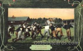 spo036025 - Foot Ball, Football, Stadium, Stadiums, Postcard Postcards