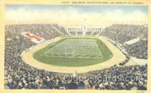 spo036032 - Exposition Park, Los Angeles, CA, USA Foot Ball,  Football Stadium Postcard Postcards